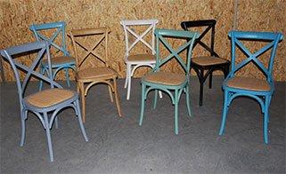 כסאות קיאנו צבעוניים לפינת אוכל