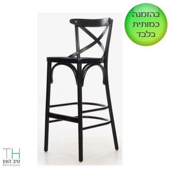 כסא בר מעץ דגם אוזו-02