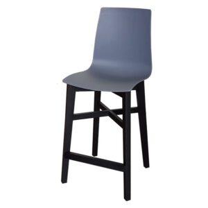 כסא בר ניס רגל שחורה