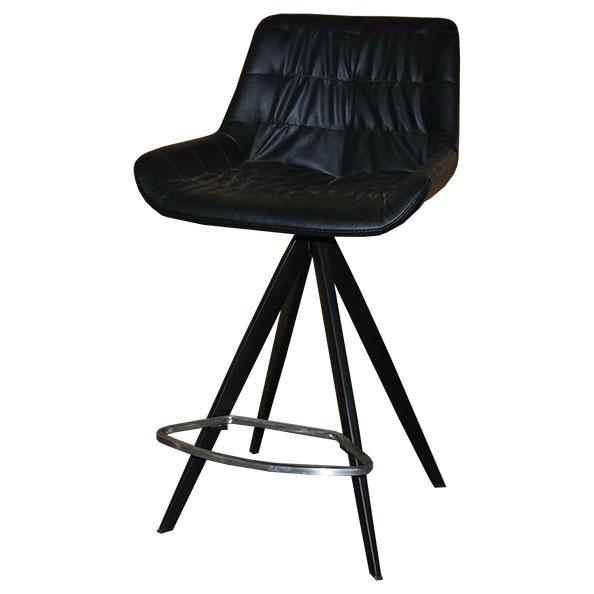 כסא בר מרופד למטבח דגם פינוק
