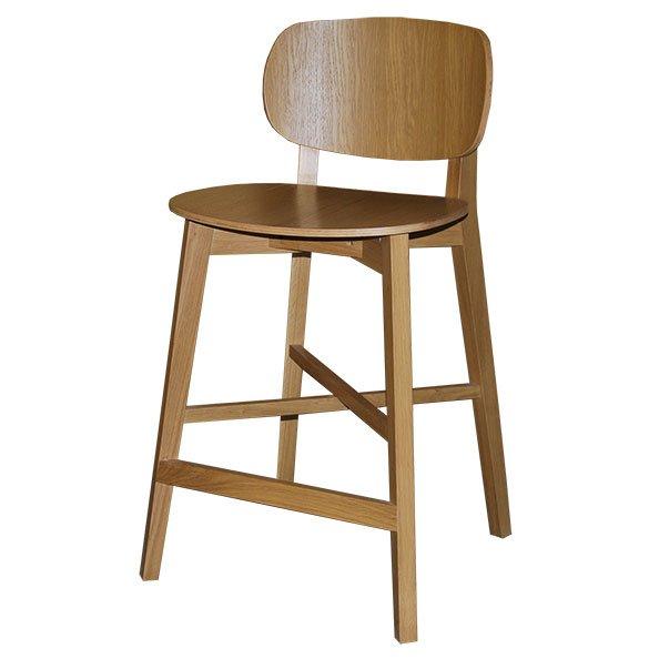 כסא בר מעץ רובינסון