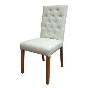 כסא לפינת אוכל עם קפיטונז'