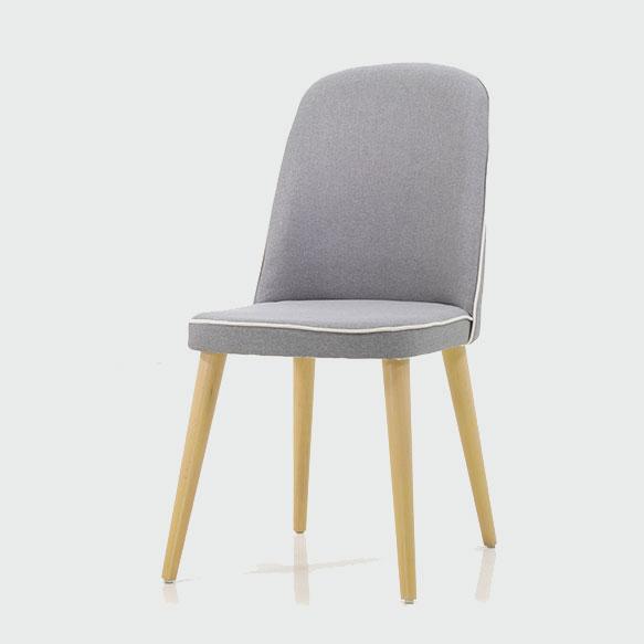 כסא באזל אפור
