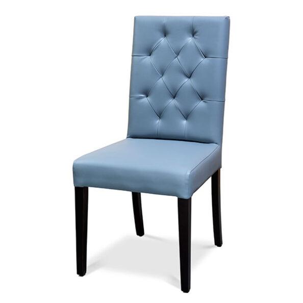 כסא קפיטונז אפור