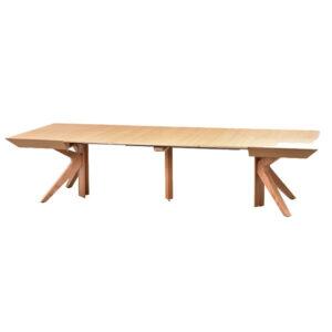 שולחן אוכל ריבוע נפתח