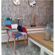 כורסא צבעונית טלאים