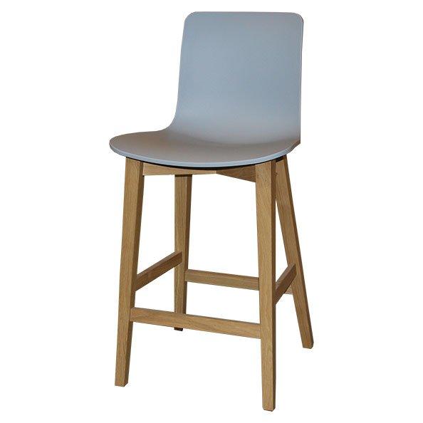 כיסא בר למטבח דגם 1320 עץ אלון