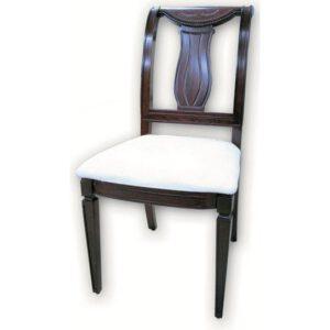 כסא 384 גב עץ
