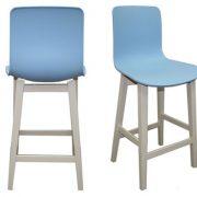 כסא בר 1320 רגל שמנת כיוונים