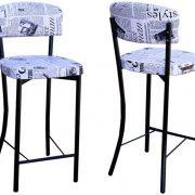 כסא בר עיתון אחורי