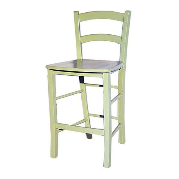 כסא בר קאנטרי ירוק