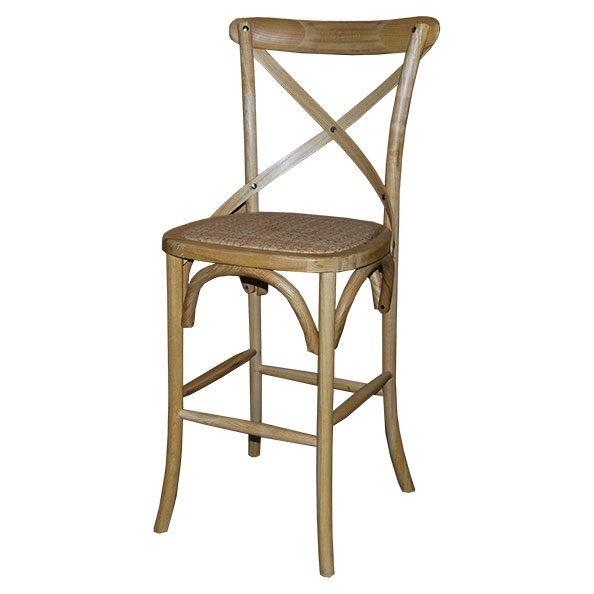 כסא בר איקס טבעי