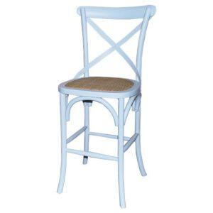כסא בר איקס לבן