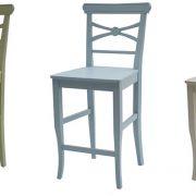 כסא בר מיקי צבעוני