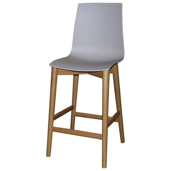 כסא בר ניס רגל עגולה