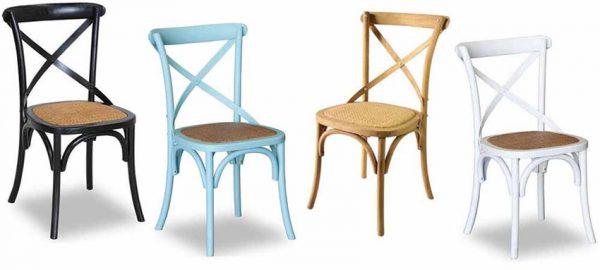 כסאות איקס צבעוניים