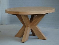 שולחן עגול ללא שיפוע