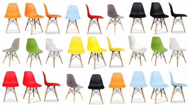 כסאות איימס צבעוניים