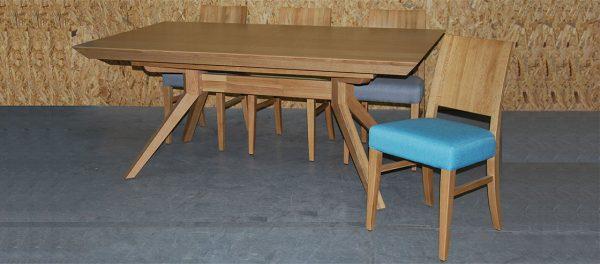 שולחן פינת אוכל עץ אלון