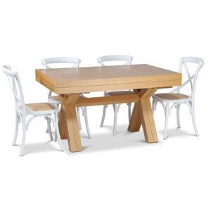 פינת אוכל מונאקו עם כסאות קיאנו