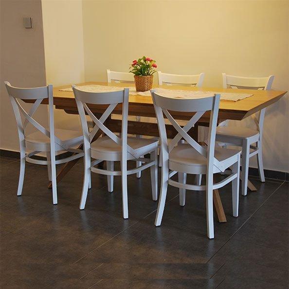 כסאות עץ לפינת אוכל