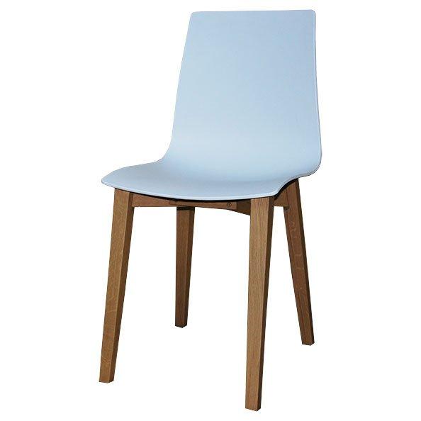 כסא פלסטיק רגל מרובעת