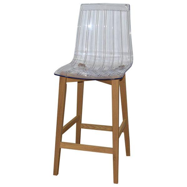 כסא בר שקוף דגם ניס