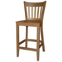 כסא בר מעץ אלון דגם איתי
