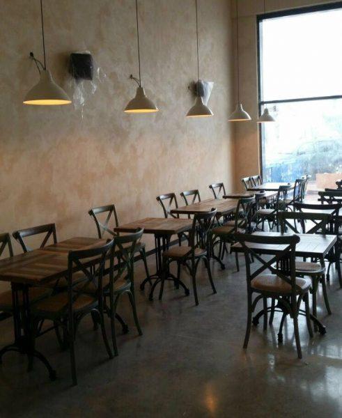 כסאות למסעדות דגם קיאנו