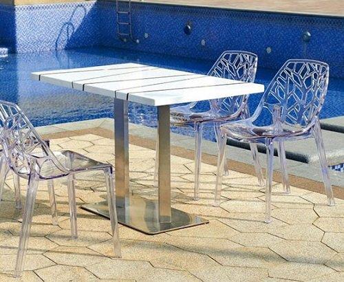 כסאות לגינה כחלק מסט ריהוט גן מעוצב