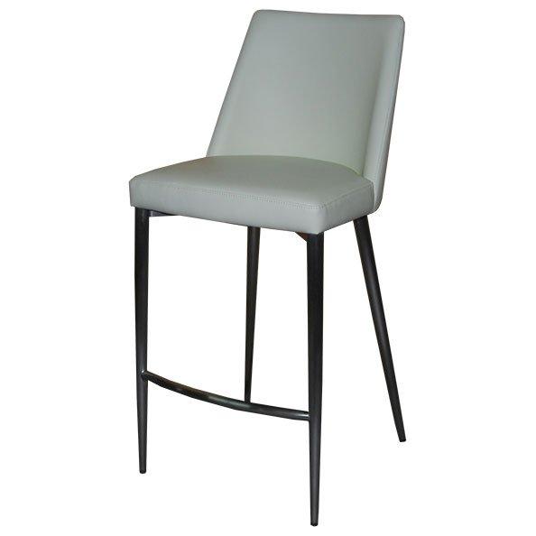 כסא בר מרופד הנרי שמנת