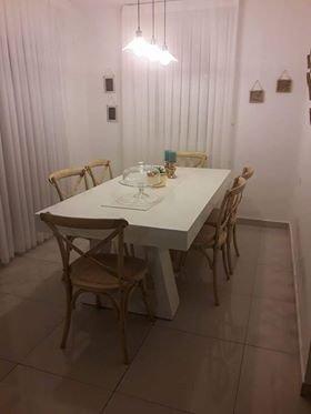 כסאות לפינת אוכל מעץ דגם קיאנו