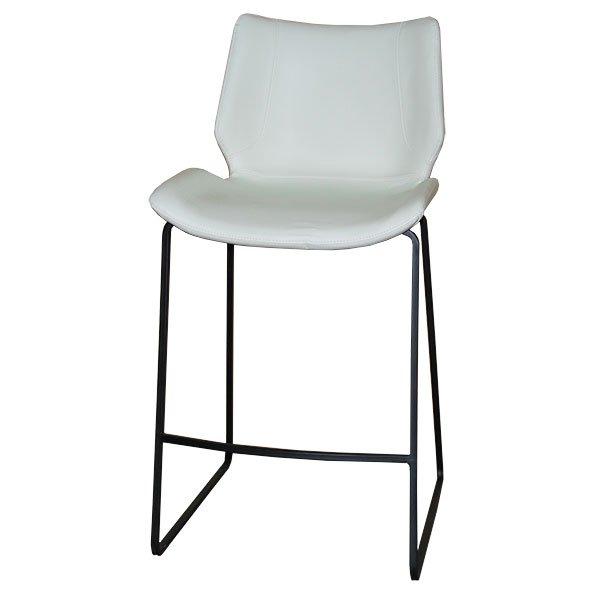 כסא בר מרופד שמנת מורין