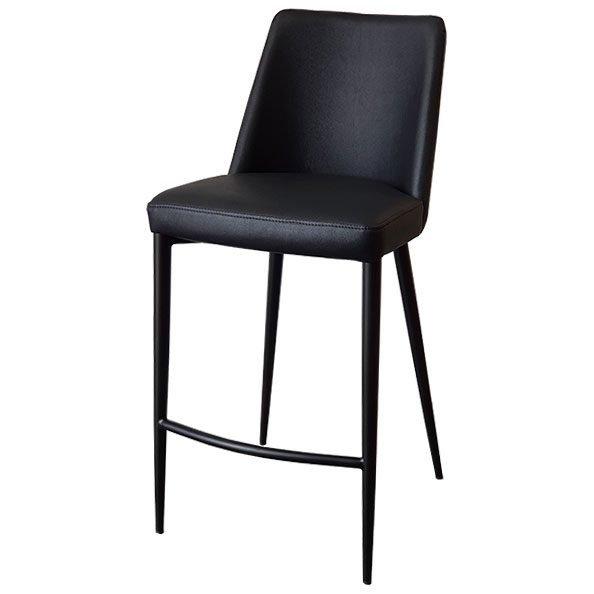 כסא בר מרופד הנרי