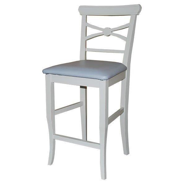 כסא בר למטבח דגם מיקי מרופד