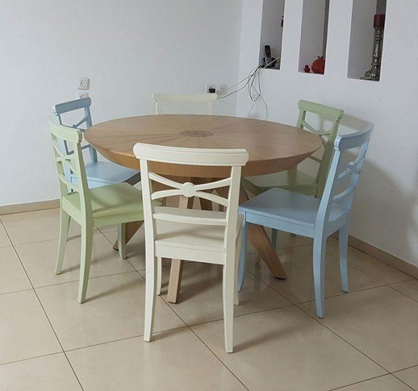 כסאות מעוצבים לפינת אוכל דגם מיקי