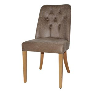 כסא לפינת אוכל דגם קפיטונז' דורין