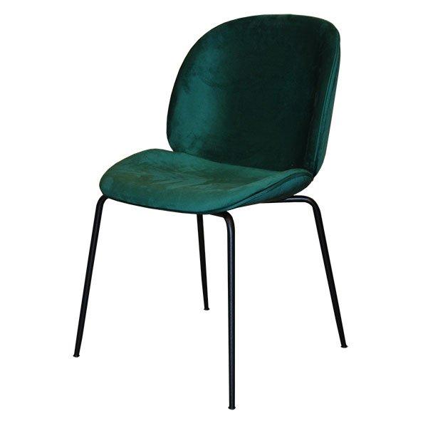 כסא ביטל ריפוד קטיפה