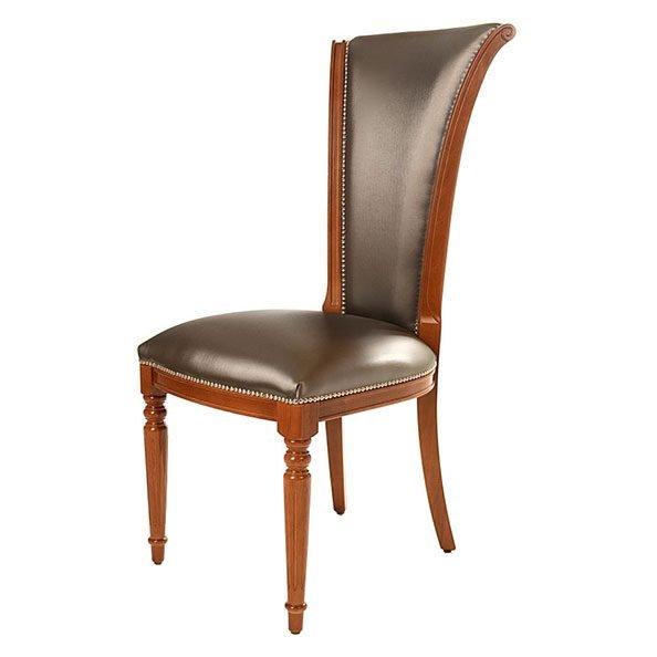 כסא לפינת אוכל דגם 592 עם רגל עגולה
