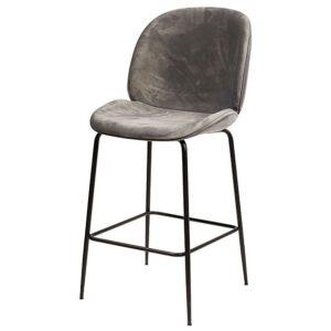 כסא בר ביטל ריפוד קטיפה