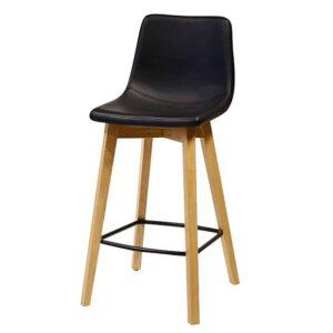 כסא בר מרטין רגלי עץ טוני