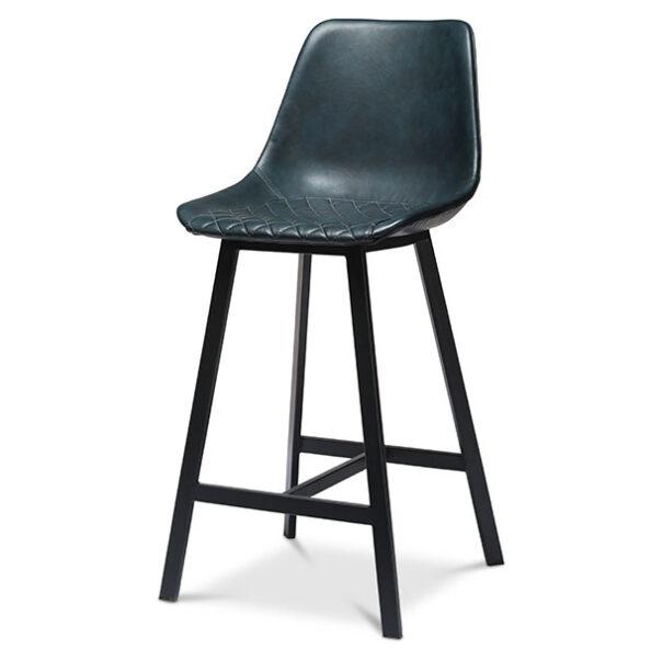 כסא בר מרופד ספיר