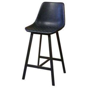כסא בר כחול כהה
