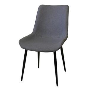 כסא אפור לפינת אוכל