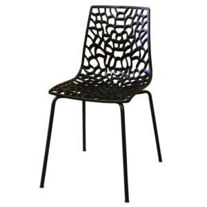 כסא רשת כוורת חורים