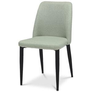 כסא מרופד ירוק