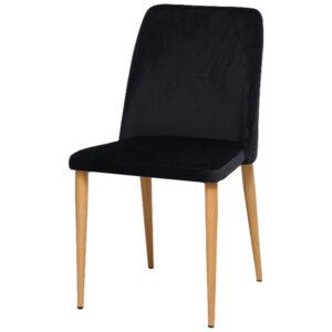 כסא קלרה שחור