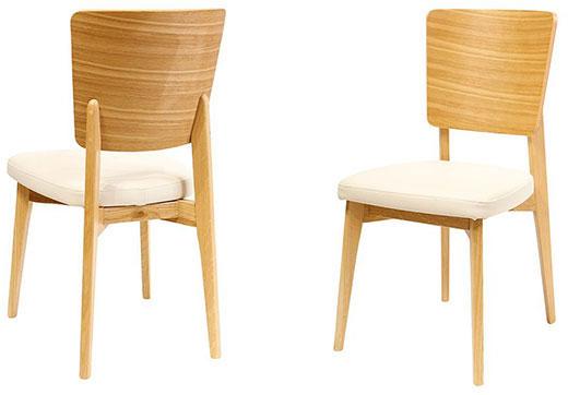 כסאות עץ אלון