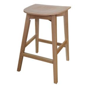 כסא בר שרפרף עץ אלון