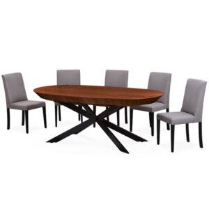 שולחן אליפסה
